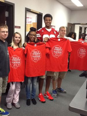 Portage High School Tribe Pride winners