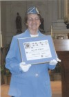 Faith is joy for Catholic War Veterans honoree