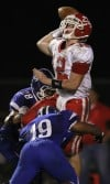 Crown Point at Lake Central football game