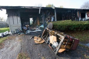 Fire destroys Union Township home
