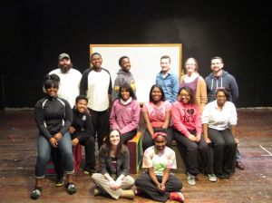 Chicago theater group visits Seton Academy