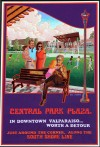 Central Park Plaza poster-ized