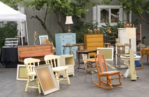 Get rid of the gunk with a garage sale