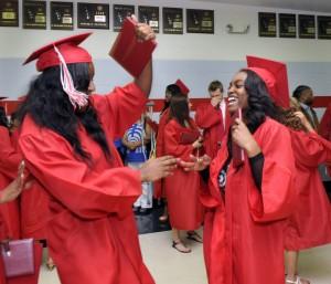 TF South graduates 458