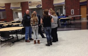Successful Freshmen Orientation Night at HHS held March 12