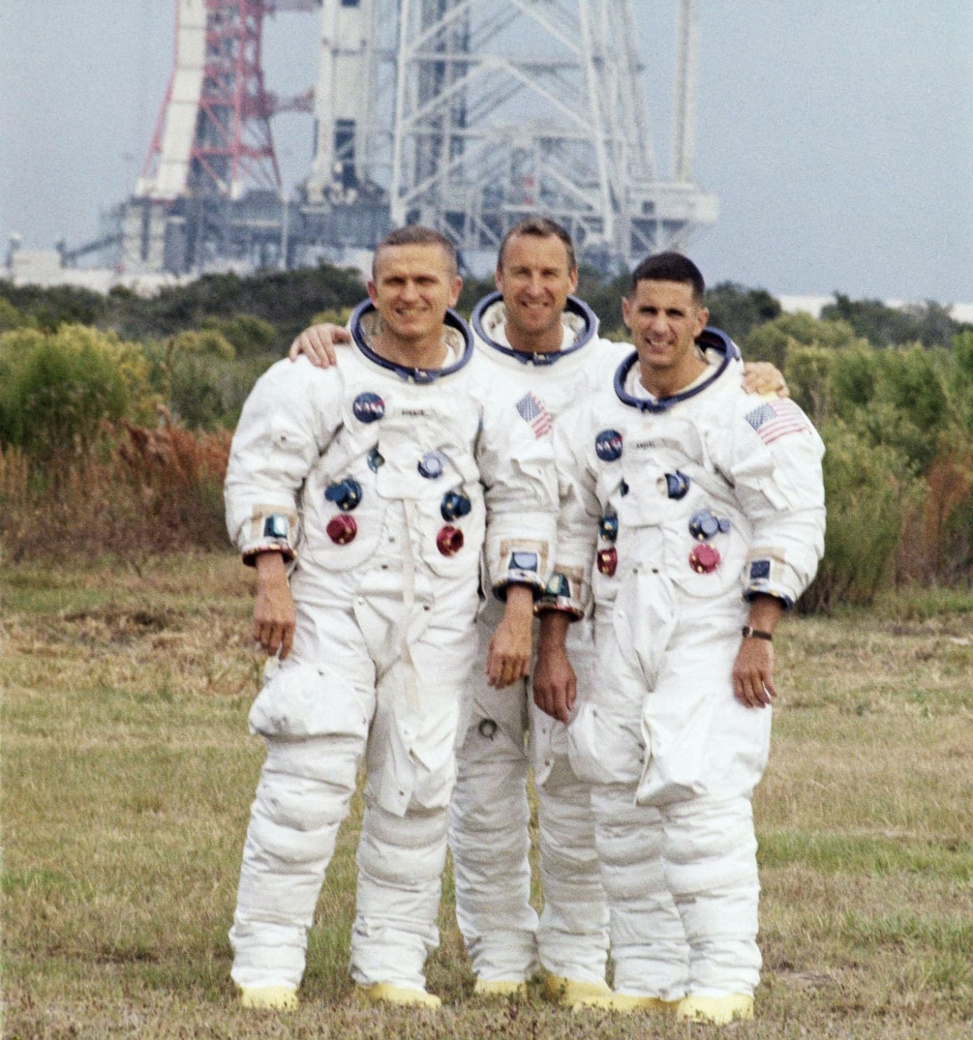 Apollo 8 - posádka: Lovell, Anders, Borman