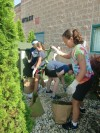 Youthful volunteers help out at Humane Society Calumet Area