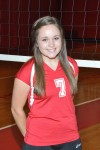 H-F volleyball player Nikki Herkert
