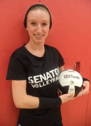Critics didn't faze Washington Township volleyball player Lauren Kleist