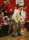 Class 3A Regional Andrean coach Carson Cunningham barks out orders