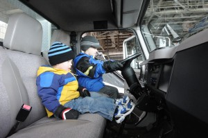 Touch a Truck event lets kids get up close to big vehicles