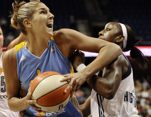 Playoff scramble underway in WNBA