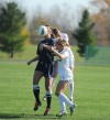 Crusaders fall to Butler in penalty kicks