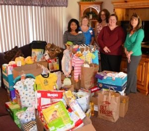 Business and church donate to St. Monica Home residents