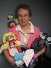 Patricia Kincaid and Sock Monkey and Sock Pig Creations