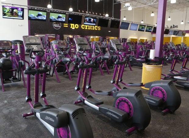 planet fitness machine names