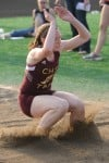 Chesterton senior long jumper Katie Behrendt