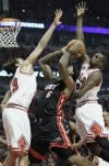 LeBron James, Joakim Noah, Luol Deng