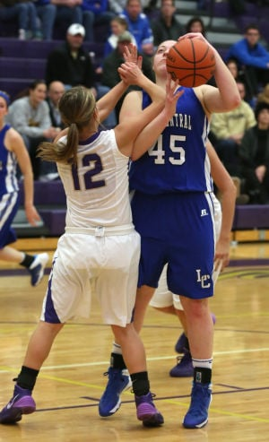 Lake Central tops Hobart in physical girls hoops matchup