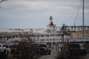 Sandy's winds bring power outages, minor damage to NWI