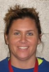 2012-13 Hebron girls basketball coach Stephanie Schulte