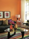 Spring's hot color for homes? Tangerine Tango