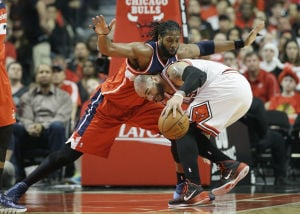 Bulls turn to ice in playoff opener, fall to Wizards
