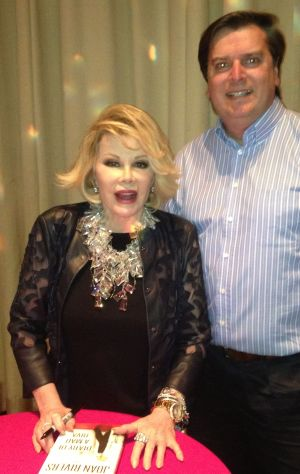 OFFBEAT: Joan Rivers still 'critical but stable'; Brad and Angie hitched