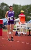 Hobart's Kara Cooke was 24th in the high jump at Saturday's IHSAA girls track and field finals.