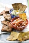 Tortilla chips are easy, delicious to make at home