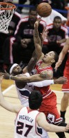 APTOPIX Bulls Hawks Basketball