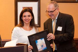 Valpo business leader receives Lamkin Award