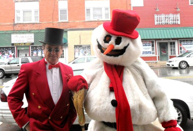 Frosty visits for Yuletide Open House