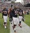 Lance Briggs, D.J. Williams, Michael Bush