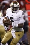 Offense growing with Golson for No. 4 Notre Dame