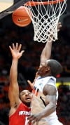 No. 22 Illinois falls to Wisconsin