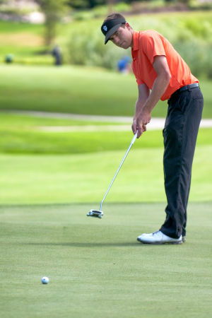 C.P.'s Grubnich tied for Northern Amateur lead