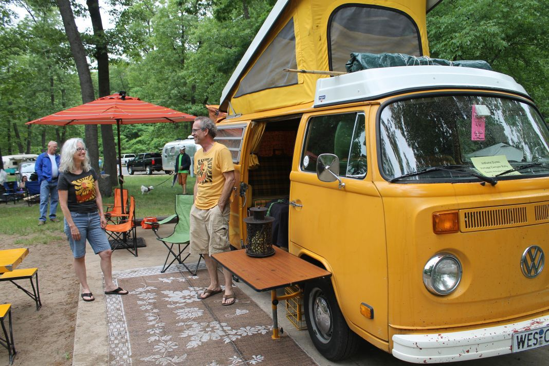 Vintage Camper Rally Celebrates The Past Porter County