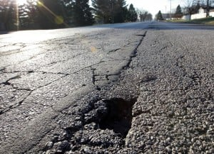 Hobart council asked to prioritize street repairs