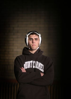 Mount Carmel wrestler Bryce Brill is The Times Illinois Male Athlete of the Year