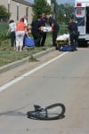 Bicyclist injured
