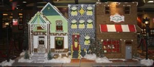House of sweets: Pastry chef crafts extravagant gingerbread creation at Blue Chip Casino