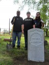 New marker installed for Civil War veteran