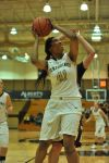 Purdue Calumet's Patrice McBee goes up for a shot Wednesday night in the CCAC tournament quarterfinals.