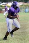 Jamal Williams, T.F. North drills
