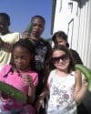 Preschoolers plant vegetable garden to help food pantry