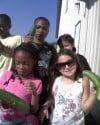 Preschoolers plant vegetable garden to help food pantry