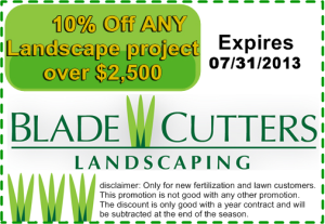 10% Landscaping Service Coupon