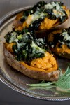 Food-American Table-Stuffed Sweet Potatoes