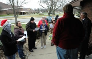 Caroling Munster church members spread Christmas cheer through song